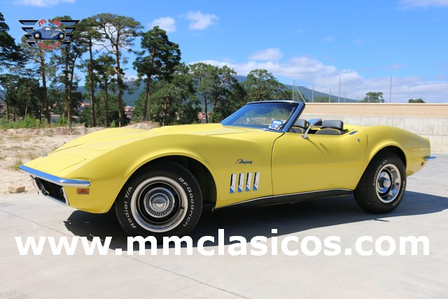 Restauración Chevrolet Corvette C3 Stingray Cabriolet 1969